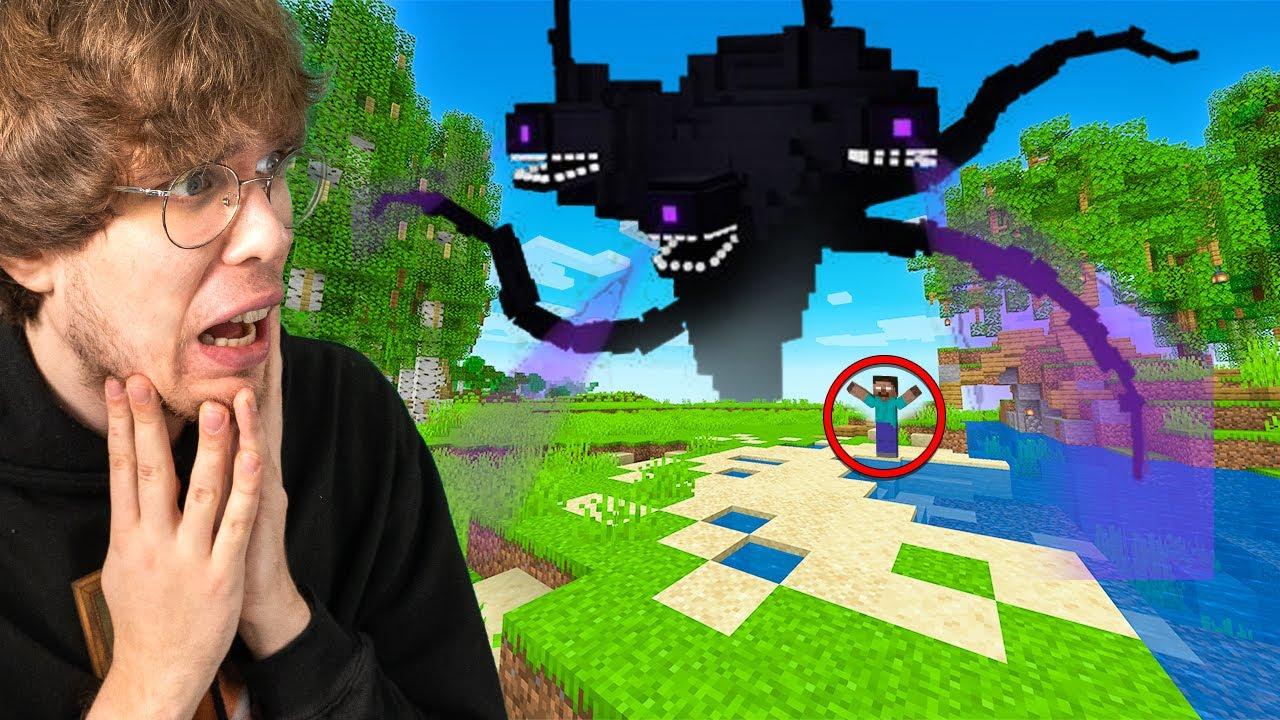 ON PRZYZWAŁ POTWORA NA MÓJ ŚWIAT!   Minecraft Herobrine #9