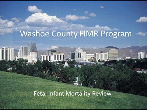 Washoe County Fetal Infant Mortality Review (FIMR) Webinar