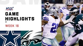 Cowboys vs. Eagles Week 16 Highlights
