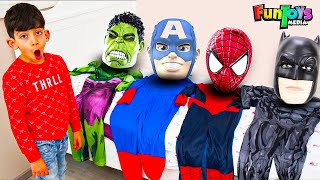 Jason became superheroes and helps his family