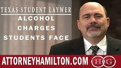 Texas Student Lawyer | Alcohol Charges Texas Tech Students Face | Stephen Hamilton