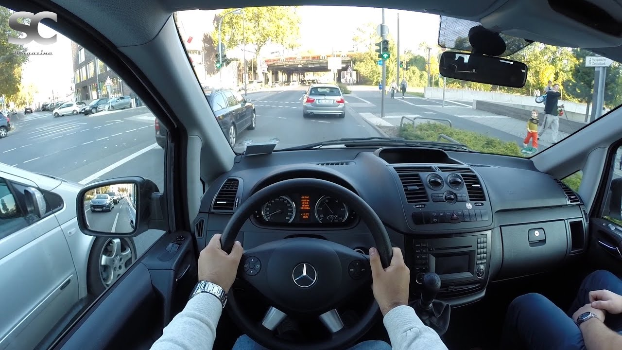 mercedes benz vito 116 cdi 2016 pov city drive youtube. Black Bedroom Furniture Sets. Home Design Ideas