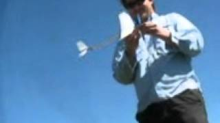 6-20-12 - Ryan & Kurt Flying Balsa Wood Planes