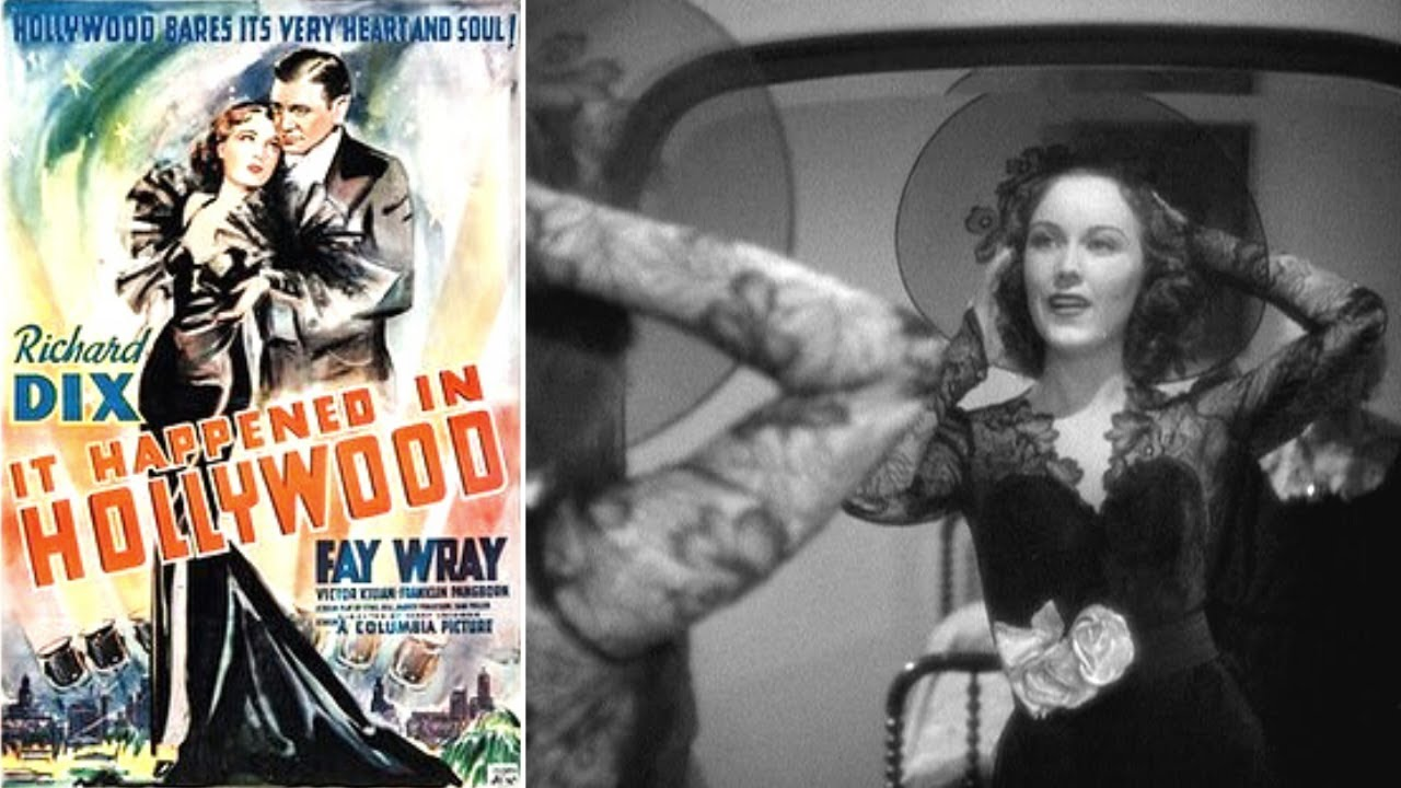 Download 🎬 IT HAPPENED IN HOLLYWOOD (1937 - American Comedy)