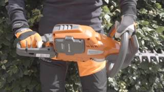 Learn about Husqvarna Pro Battery Hedge Trimmers