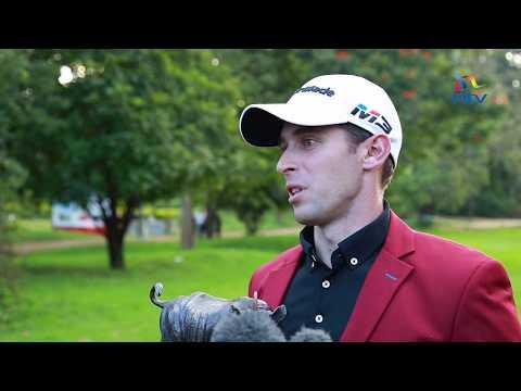 Lorenzo Gagli wins the 2018 Barclays Kenya Open at Muthaiga Golf Club