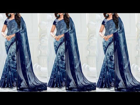 Buy Online Party Wear And Buy Designer Party Wear Saree   Georgette Saree   Chiffon Saree