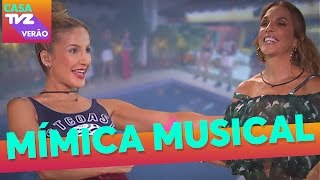 Mímica Musical | Ivete Sangalo + Claudia Leitte | Casa TVZ Verão