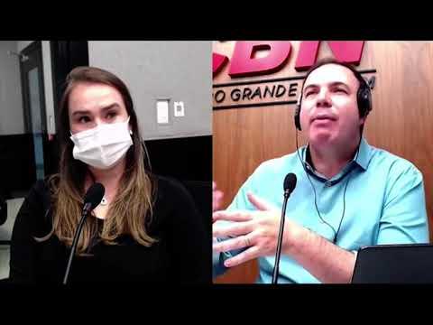 Entrevista CBN Campo Grande (26/11/2020): com a médica pneumologista, Nayara Silveira