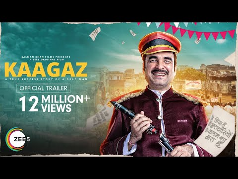 Kaagaz | Official Trailer | Pankaj T | Satish K | A ZEE5 Original Film | Streaming Now on ZEE5