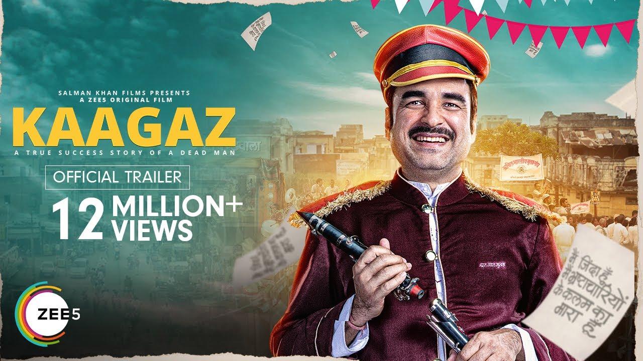 Kaagaz Movie Trailer | Pankaj Tripathi, Satish Kaushik | A ZEE5 Original Film | Streaming on ZEE5