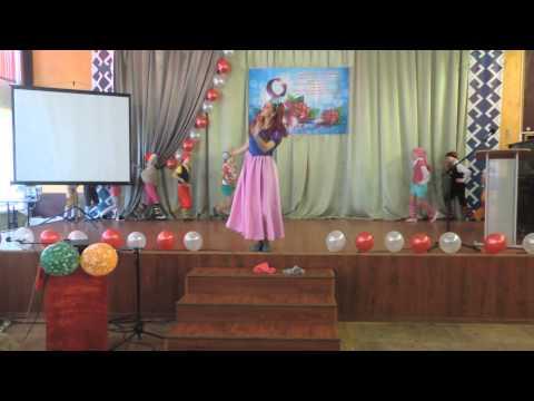 Забавный танец 'Белоснежка и гномики' (7.03.2015)