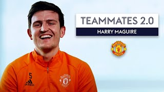 Which Manchester United player is the Nutmeg king? 👑 | Harry Maguire | Teammates 2.0