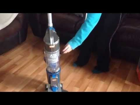 Review of Vax Air Cordless U86-AL-B_B upright vacuum cleaner