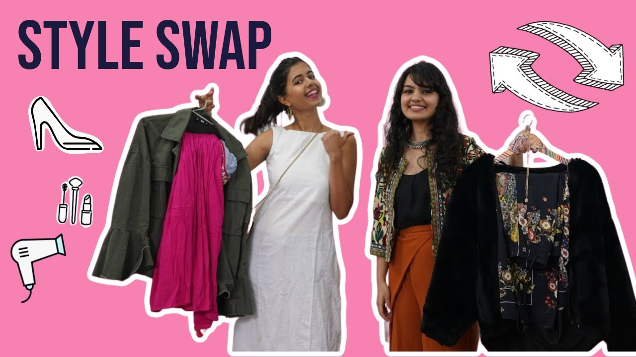 STYLE SWAP with my Subscriber! | Sejal Kumar