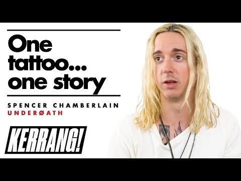 UNDEROATH'S Spencer Chamberlain Got a Tattoo After Getting Kicked Out of the Band