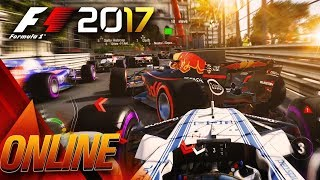 MONACO ROADBLOCK - F1 2017 Multiplayer