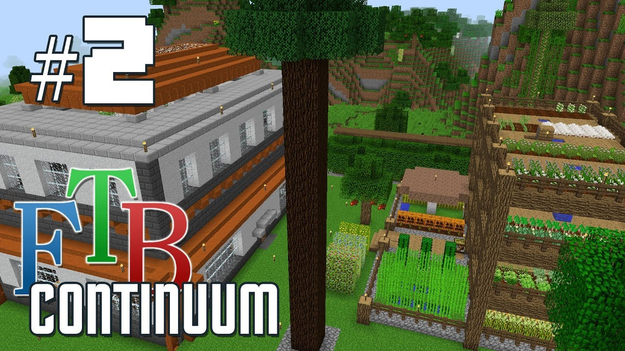 FTB Continuum #2 - New Base and Side Quests