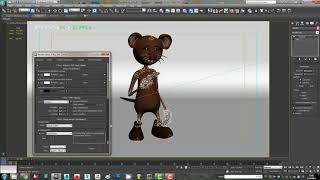 De dibujos animados del Ratón 3ds Max, Animación para AE - Parte 1