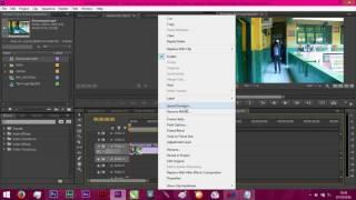 Cara Membuat Video Berjalan Mundur - Adobe Premiere
