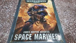 Codex Space Marines 8th ed; points and datasheet changes
