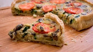 Pizza Quiche | Rookie With A Cookie
