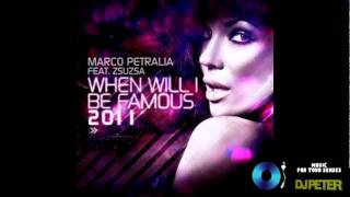 Marco Petralia Feat. Zsuzsa - When Will I Be Famous 2011 (Plastik Funk Remix)