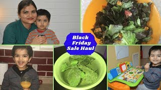 What I Bought On Black Friday Sale | Indian Mom's Evening To Night Time Routine