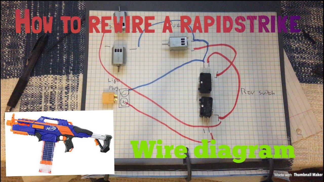 How To Rewire A Nerf Rapidstrike