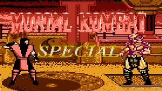Mortal Kombat II Special (Unl) (Roster Hack) (NES Pirate) - NES Longplay - ERMAC (Hard Difficulty)