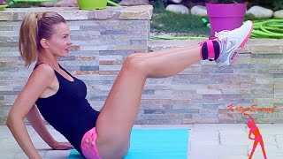 Подтяни Дряблый Жир Между Ног / Упражнения для Внутренней Поверхности Бедра(Katya Energy)