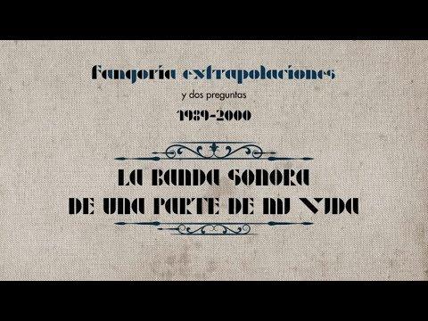 Fangoria - La banda sonora de una parte de mi vida (Lyric Video)
