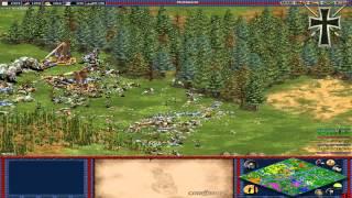 Age of Empires II - 37ª Partida Multijugador En Línea -  Juan Cruz, Jónatan, Nelson y Fede