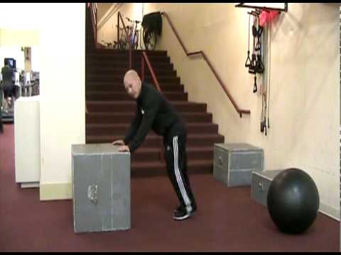 Exercise Tip: The Box Push | Seattle Athletic Club Downtown
