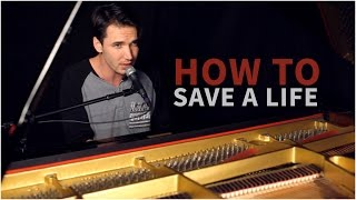 "The Fray - ""How To Save A Life"" (Corey Gray - Piano Cover) - Official Music Video"