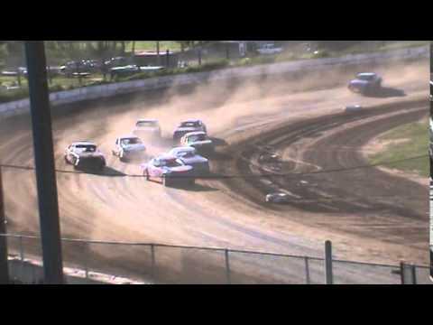 IMCA Stockcar Heat 3 Seymour Speedway 6/21/15