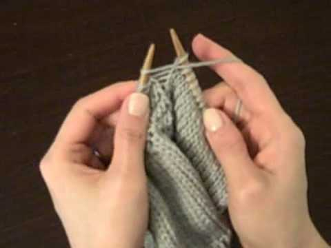 How to Knit: The Purl Increase (p-inc)