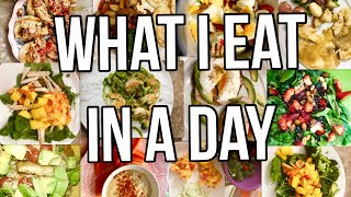 WHAT I EAT IN A DAY/GROCERIES & 30 DAY FITNESS {GABRIELLAGLAMOUR}