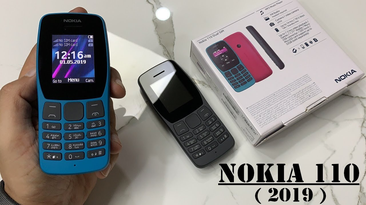 NOKIA 110 2019 UNBOXING AND REVIEW - YouTube