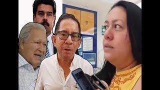 Presentaran acusaciones contra Eugenio Chicas  │Sánchez Ceren apoya  a Nicolás Maduro