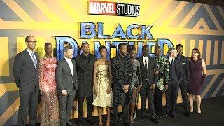Black Panther European Premiere Red Carpet