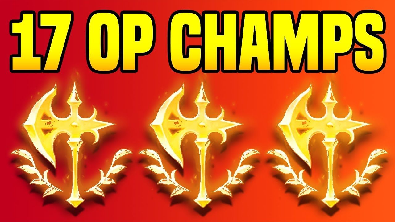 17 CHAMPIONS THAT CAN ABUSE NEW CONQUEROR (FT  FORMER C9 COACH SAIPH) -  League of Legends