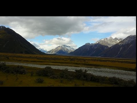 Aoraki Mt  Cook, New Zealand by DJI Mavic Pro