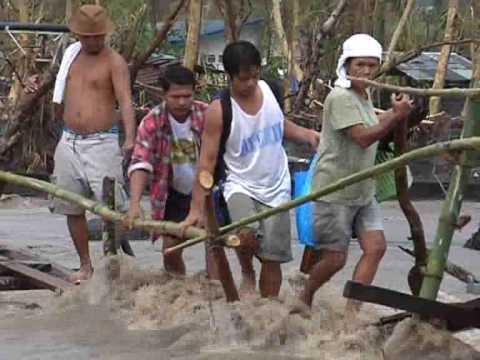 Typhoon Utor  Legazpi  Philippines