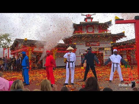 [4K] Ninjago World Opening Ceremony at Legoland California