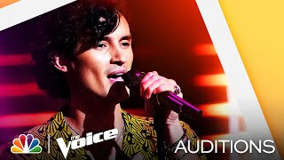 "Conner Snow Has a Really Interesting Tone on Sam Fischer's ""This City"" - Voice Blind Auditions 2021"