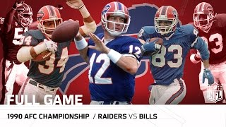 1990 AFC Championship: Bills Clinch 1st Super Bowl Appearance | Raiders vs. Bills | NFL Full Game(, 2016-12-02T21:00:00.000Z)