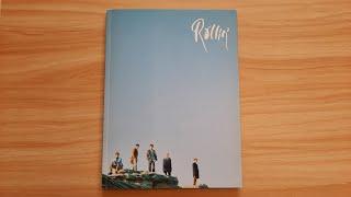 B1A4 (비원에이포) Rollin' Album Unboxing Blue ver. (2017-09-25)