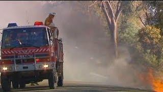 Höchster Brandalarm in Australien