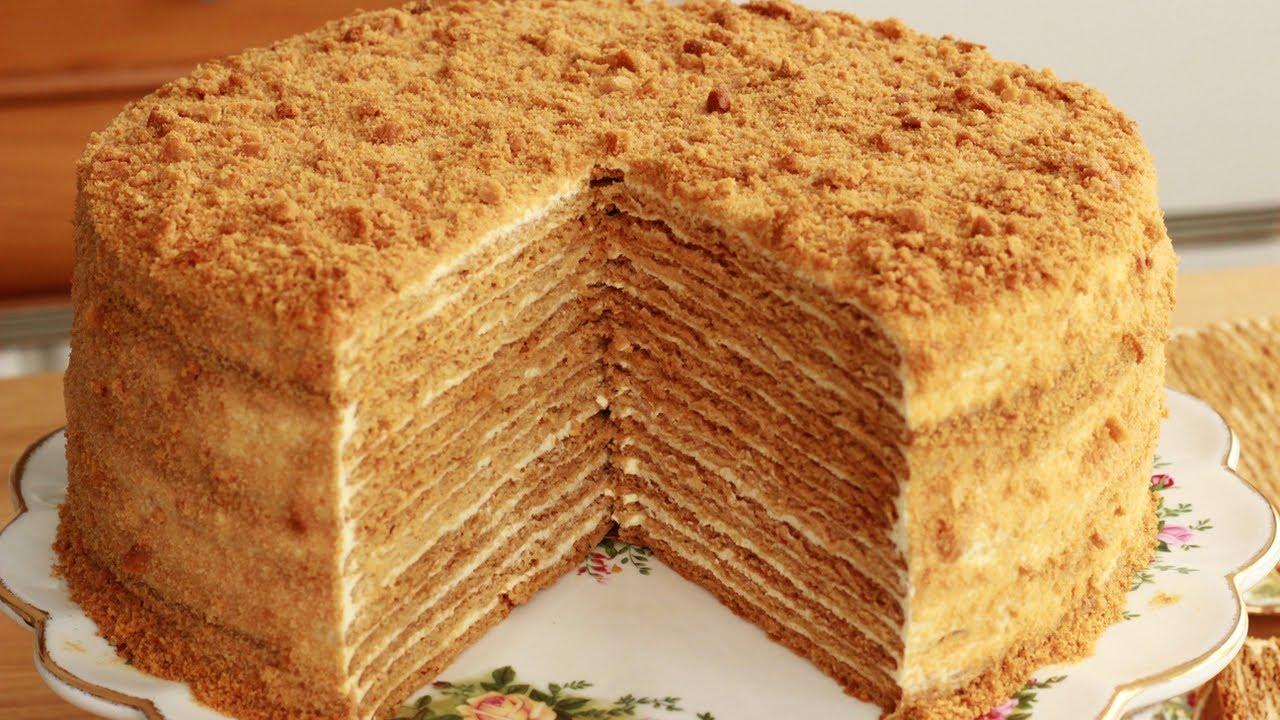 Торт чудо медовый рецепт с фото